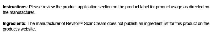 Revitol Scar Cream Review Is Revitol Scar Cream A Smart Choice